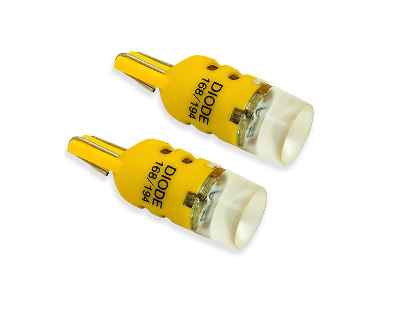Diode Dynamics Amber Map Light LED Bulbs; 194 HP5 (05-20 All)