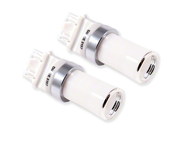 Diode Dynamics Cool White LED Reverse Light Bulbs; 3157 HP48 (07-18 Jeep Wrangler JK)