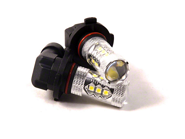 Diode Dynamics Cool White Fog Light LED Bulbs; H10 XP80 (08-10 All)