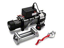 Barricade 10,000 lb. Winch with Wireless Control (Universal; Some Adaptation May Be Required)