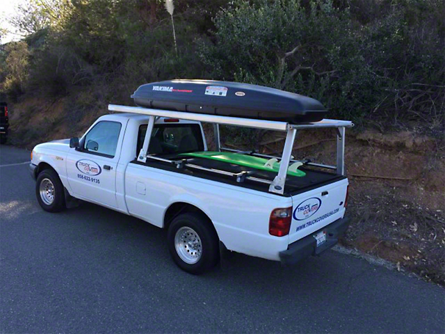 American Truck Rack Cab Over Extension Bars (Universal Fitment)