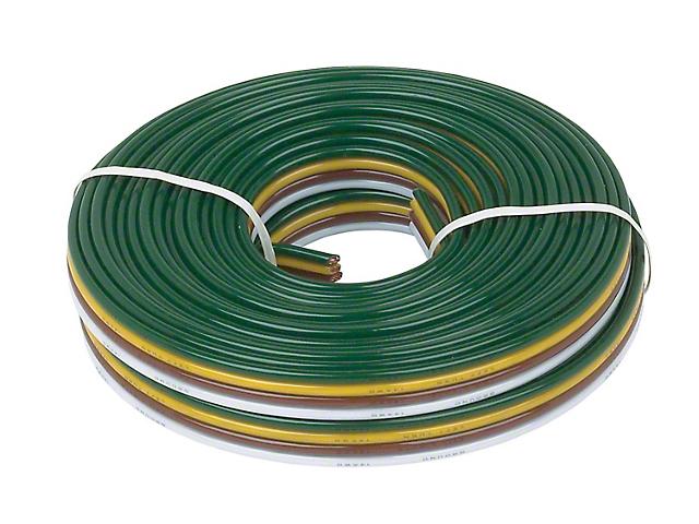 16/18-Gauge/4-Wire Bonded Wire Spool; 25-Feet