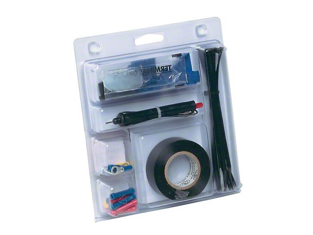 Trailer Wiring Installation Kit; 42-Piece Set
