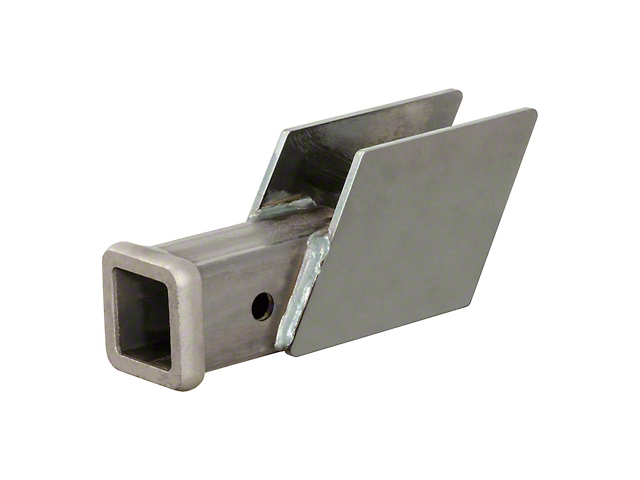 Weld-On 2-Inch Receiver Hitch; 500 lb. Capacity (Universal Fitment)