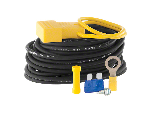 Powered Converter Wiring Kit; 15 Amps