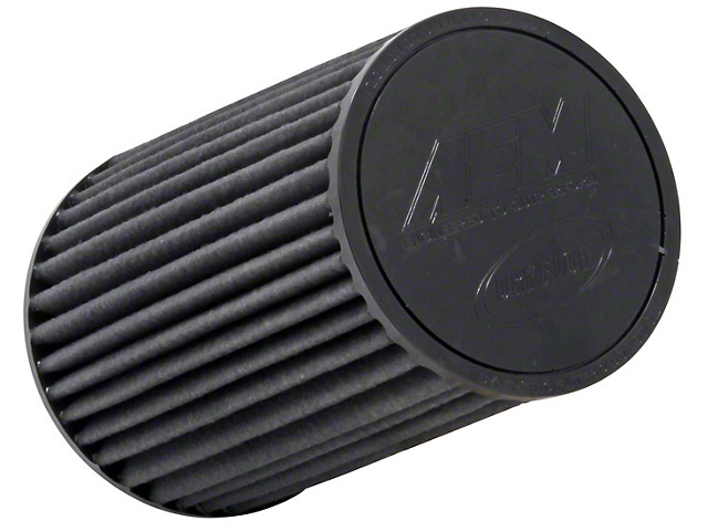 AEM Brute Force DryFlow Air Filter; 2.50-Inch Inlet / 9.25-Inch Length