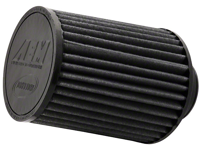 AEM Brute Force DryFlow Air Filter; 2.75-Inch Inlet / 7-Inch Length