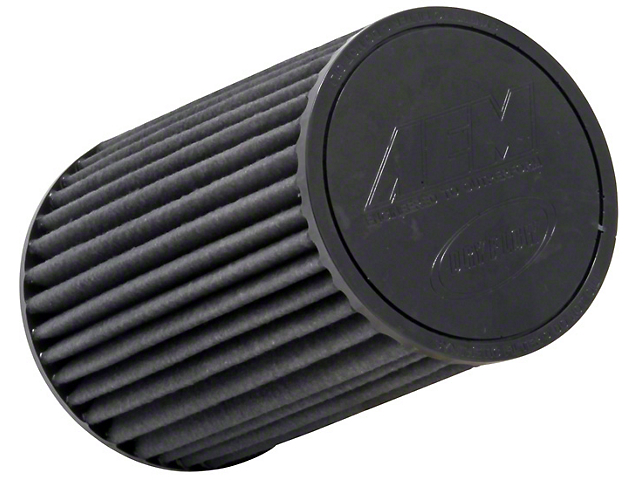 AEM Brute Force DryFlow Air Filter; 2.75-Inch Inlet / 9.125-Inch Length