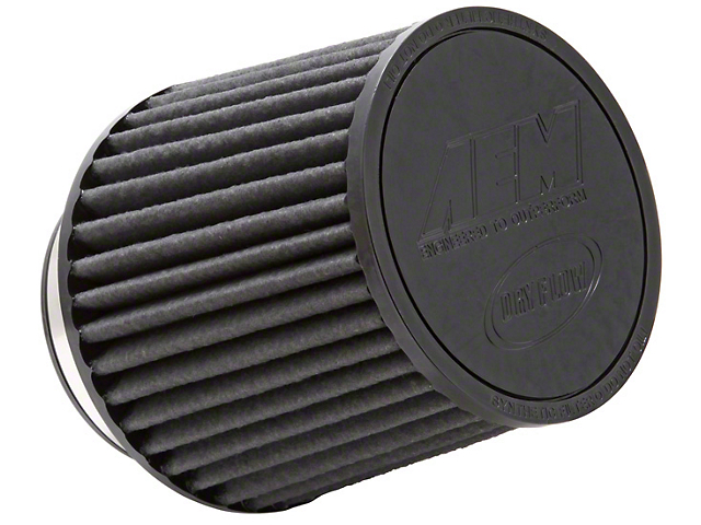AEM Brute Force DryFlow Air Filter; 3.50-Inch Inlet / 5.25-Inch Length