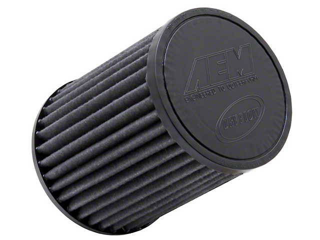 AEM Brute Force DryFlow Air Filter; 3.50-Inch Inlet / 7-Inch Length
