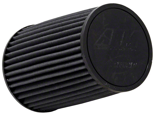 AEM Brute Force DryFlow Air Filter; 3-Inch Inlet / 8.125-Inch Length