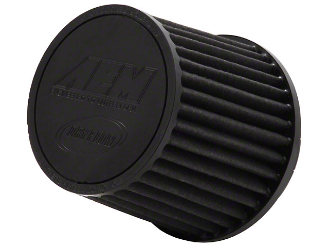 AEM Brute Force DryFlow Air Filter; 4.50-Inch Inlet / 5.125-Inch Length