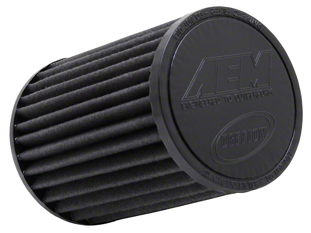 AEM Brute Force DryFlow Air Filter; 4-Inch Inlet / 7-Inch Length