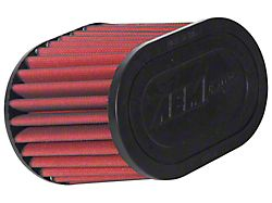 AEM DryFlow Air Filter; 2.75-Inch Inlet / 5-Inch Length (Universal; Some Adaptation May Be Required)