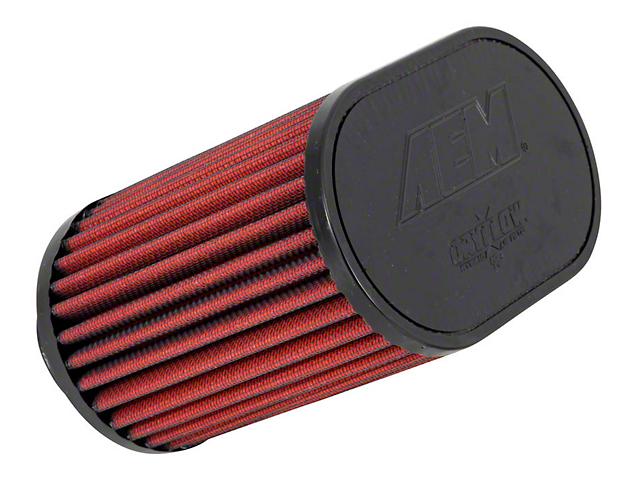 AEM DryFlow Air Filter; 2-Inch Inlet / 5.50-Inch Length