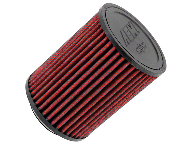 AEM DryFlow Air Filter; 3-Inch Inlet / 6.50-Inch Length
