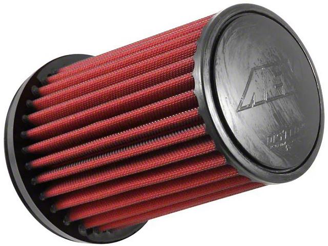 AEM DryFlow Air Filter; 6.375-Inch Inlet / 8.875-Inch Length