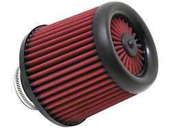 AEM Race DryFlow Air Filter; 2.50-Inch Inlet / 5.50-Inch Length (Universal; Some Adaptation May Be Required)