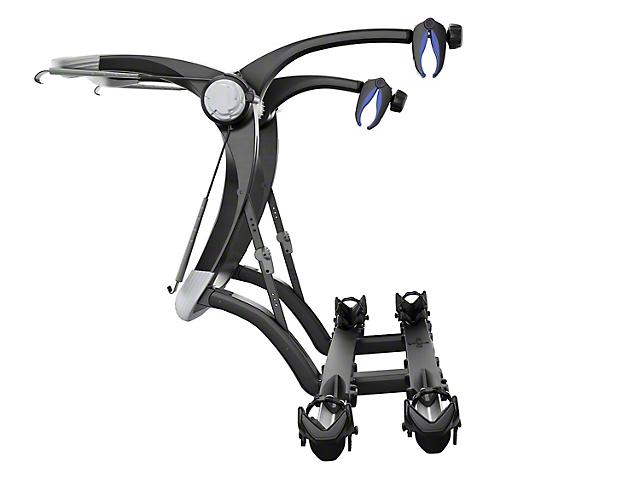 Thule Raceway Platform Pro 2 Trunk Mount Bike Rack; Carries 2 Bikes (Universal Fitment)