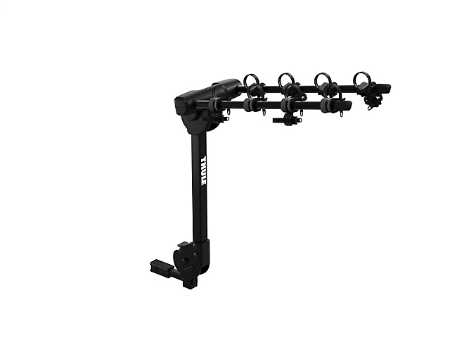Thule 1.25 to 2-Inch Reciever Hitch Camber 4 Bike Rack; Carries 4 Bikes (Universal Fitment)
