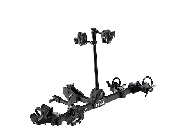 Thule 1.25 to 2-Inch Reciever Hitch DoubleTrack Pro 2 Bike Rack; Carries 2 Bikes (Universal Fitment)