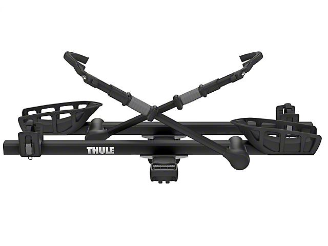 Thule 1.25-Inch Receiver Hitch T2 Pro XT 2 Bike Rack; Black; Carries 2 Bikes (Universal Fitment)