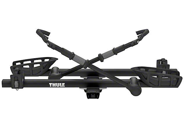 Thule 2-Inch Receiver Hitch T2 Pro XT Add-On Bike Rack; Black (Universal Fitment)