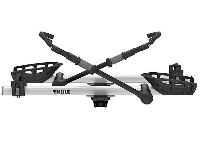 Thule 2-Inch Receiver Hitch T2 Pro XT Add-On Bike Rack; Silver (Universal Fitment)