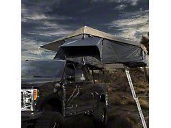 Overland Vehicle Systems Nomadic 4 Extended Roof Top Tent with Annex; Gray (Universal; Some Adaptation May Be Required)