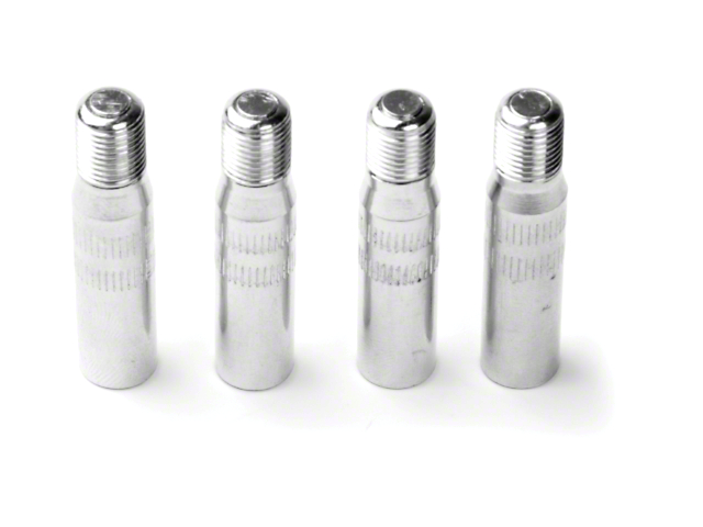 Tire Valve Extensions; 1-1/4-Inch Long