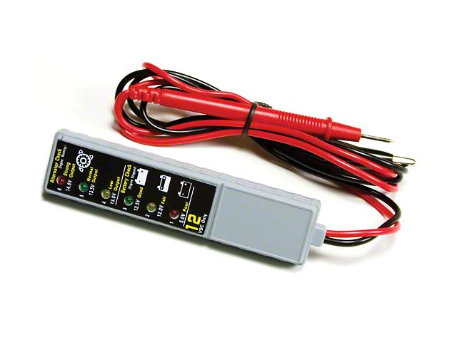 12 Volt LED Battery Tester