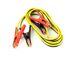 8-Gauge Jumper Cables; 12-Foot