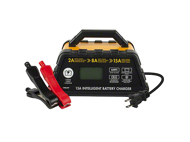 Intelligent Battery Charger; 15 AMP