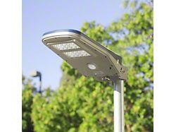Solar and LED Floodlight; 2000 Lumen