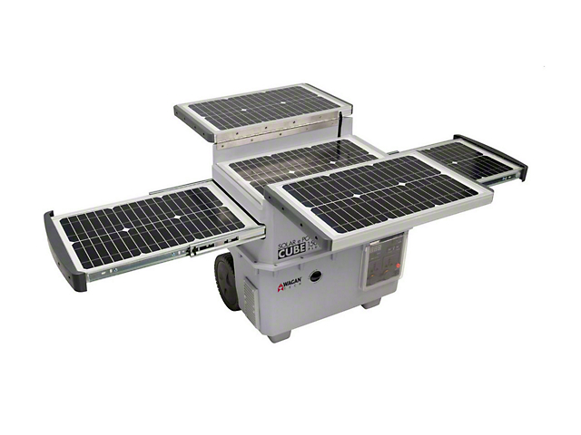 Solar e Power Cube Generator
