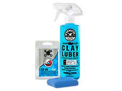 Chemical Guys Clay Bar and Luber Synthetic Lubricant Kit; Light Duty