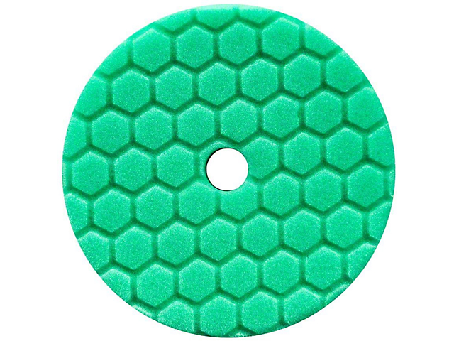 Chemical Guys Green Hex-Logic Quantum Heavy Polishing Pad; 6.50-Inch