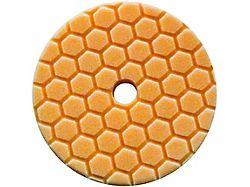 Chemical Guys Orange Hex-Logic Quantum Medium-Heavy Cutting Pad; 6-Inch