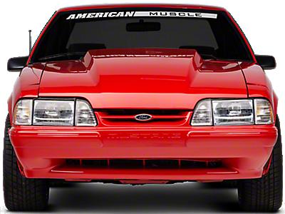 OPR Mustang Rear Bumper Cover w/ Mustang Lettering - Unpainted 17119