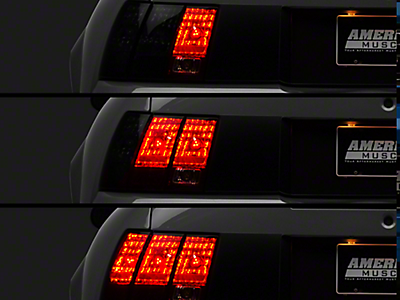 1994 1998 Mustang Tail Lights Americanmuscle Free Shipping