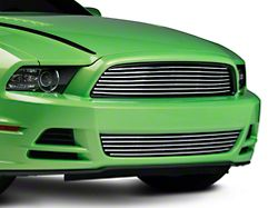 Modern Billet Retro Grille - Combo - Polished (13-14 GT)