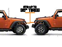 2007 2018 Jeep Jk Lift Kits Wrangler Extremeterrain