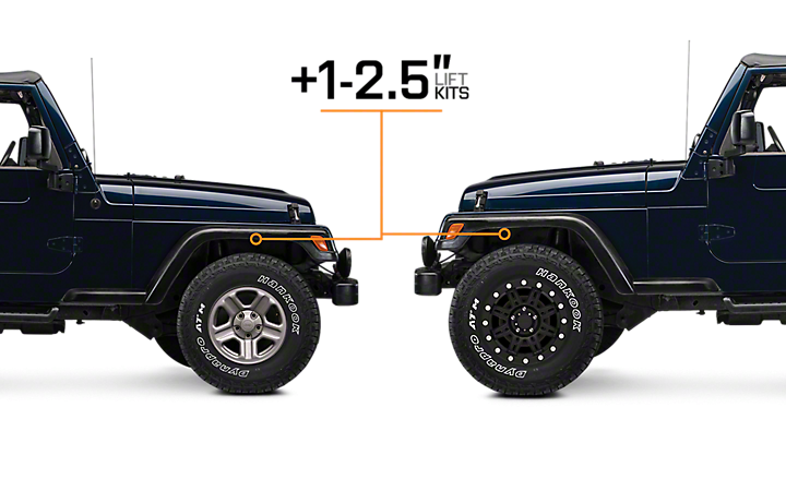 Jeep Wrangler Lift Kits >> Jeep Tj Lift Kits 1997 2006 Wranglers Extremeterrain