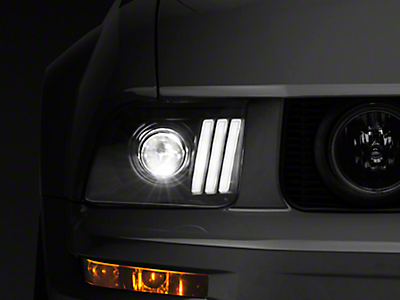 Headlights<br />('05-'09 Mustang)