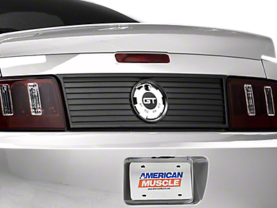 Decklid Panels<br />('05-'09 Mustang)