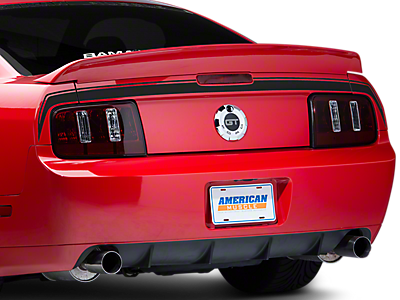 Decklid & Rear Bumper Decals<br />('05-'09 Mustang)