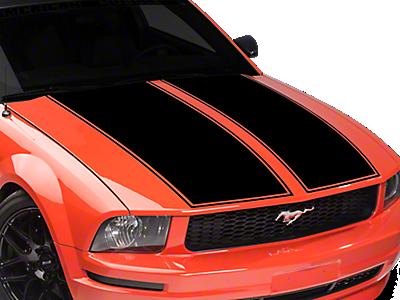 Mustang Hood Decals & Hood Scoop Decals 1979-1993