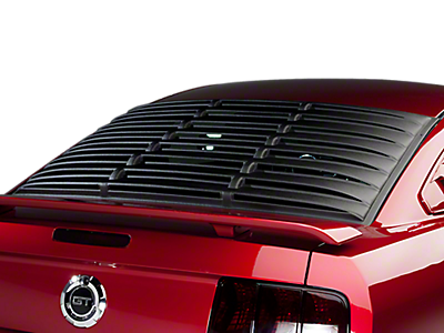 Louvers - Rear Window<br />('05-'09 Mustang)