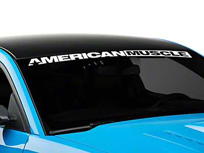 Window Banners & Decals<br />('05-'09 Mustang)