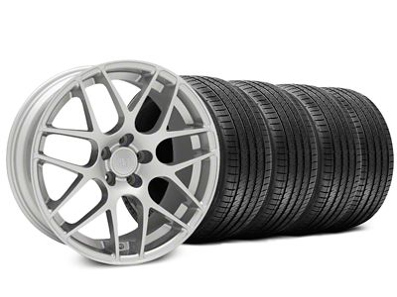 AMR Silver Wheel & Sumitomo Tire Kit - 18x9 (94-98 All)